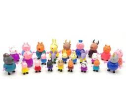 Peppa pig kit 25 personagens