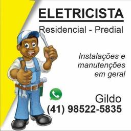 Eletricista Profissional Residencial Predial Comercial Industrial