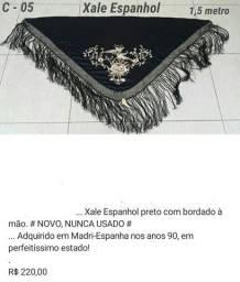 Título do anúncio: Xale Espanhol