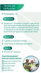 Técnico em Edificações - Florianópolis SC