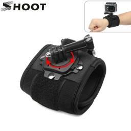 Suporte de pulso para GoPro hero e similares gopro action cam sjcam