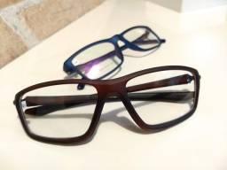 Armação masculino ESPORTIVO para óculos grau