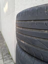 Título do anúncio: Jogo de pneus aro 17 usados