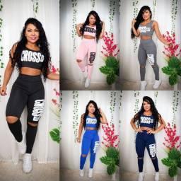 Título do anúncio: Conjunto legging crossfit
