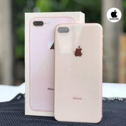 iPhone 8 Plus 64g bateria 100% c Caixa