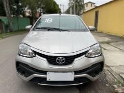 Título do anúncio: Toyota etios sedan 1.5x 2018 único dono