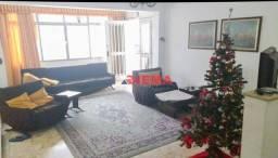 Título do anúncio: Casa com 4 dormitórios à venda, 406 m² por R$ 3.180.000,00 - Aparecida - Santos/SP