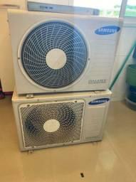 Ar condicionado sansung iverter 9.000btus istalado