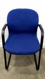 Cadeira escritório recepção espera reforçada Ótimo estado