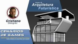 Modelos 3D -  Engenharia Futurística - Arquitetura para criação de cenários de Jogos