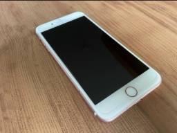 Título do anúncio: Apple iPhone 7 plus 128gb rose no preço