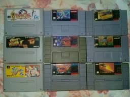 Jogos original super Nintendo e famicom