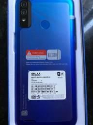 Smartphone Blu 64GB bateria 5000