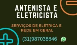 Instalador de Antenas em toda BH e região