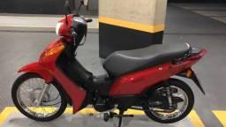 Honda Biz 2015 Doc 2021 Vermelha