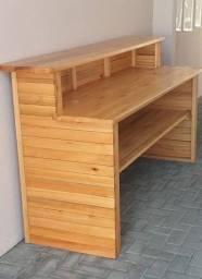 Balcão de madera