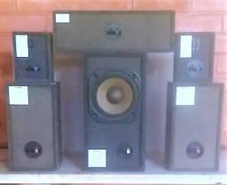 0019-Conjunto de Cx.Som Home Theater-Pioneer-S-HTD510