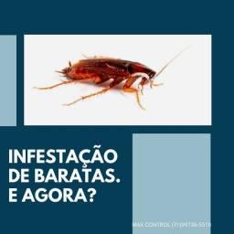 Infestação de baratas? Ente em contato JÁ !!