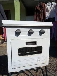 Fogão 2 bocas e forno VENAX