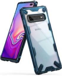 Capinha Ringke Fusion X Samsung Galaxy S10+ plus