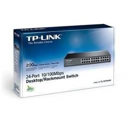 Switch TP-Link 24 Portas 10/100 - TL-SF1024D