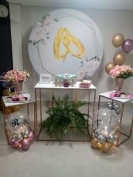 Título do anúncio: Balões transparente para aniversário com nome
