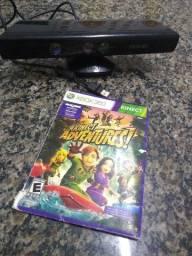 Kinect Xbox 360 com jogo