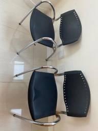 Título do anúncio: Vendo duas cadeiras