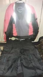 .Jaqueta tex e calça zebra n 42 usada