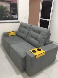 Título do anúncio: Sofa semi novo