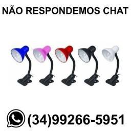 Luminária Presilha c/ Bocal p/ Lâmpada Bivolt