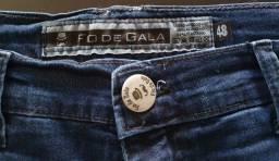 Calça Jeans Fio de Gala, 48