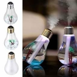 Título do anúncio: Mini Umidificador de Ar e Luminária Em Formato De Lampada Com Led USB