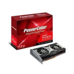Lançamento Placa de vídeo RX 6700XT 12GB d6 powercolor, Nova (lacrada), Nf e garantia