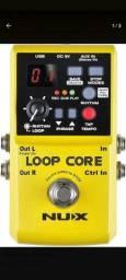 Nux Loop Core( mais de 6 horas de gravação) Quase Zero Aceito troca(celular e outros).