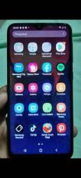 Título do anúncio: Celular galax Samsung A10 azul 32 g