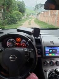 Troco por caminhão Nissan Sentra ano 2010 completo com gnv