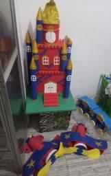 Castelo para decoração infantil