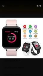 Relógio Smartwatch B57 1.3 Hero Band3 Android Samsung iPhone