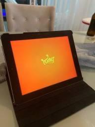 iPad 3 com capa de couro