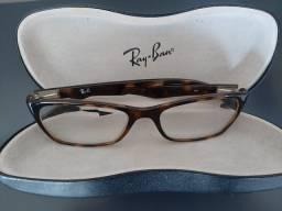Armação semi-nova óculos Ray ban
