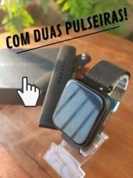 Relógio Smartwatch P70 - Duas pulseiras (Com garantia)