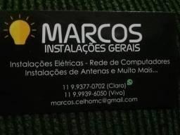 Eletricista  e Telecom.