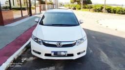 Honda Civic LXS branco manual 2013 impecável