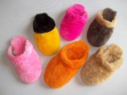 chinelos pantufas de lã atacado e revenda