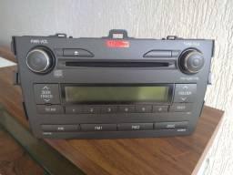 Título do anúncio: Vendo. rádio Toyota Corola XEI 2009