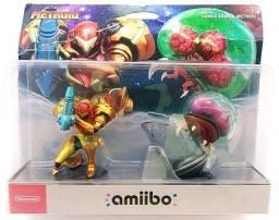 Amiibos Nintendo Zelda, Donkey Kong, Metroid e Animal Crossing