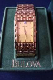 Relógio de Pulso Bulova Feminino Novo Quartz Resistente à água Modelo 97D05