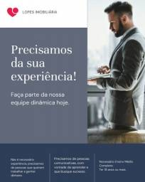 Título do anúncio: Consultor de imóveis