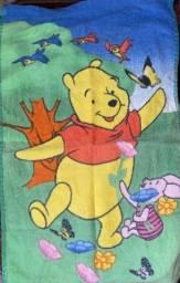 Toalha de lancheira macia do ursinho pooh